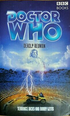 Doctor Who Deadly Reunion BBC Past Doctor Books PDA 2003 1st ED  • 8.50£
