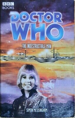 Doctor Who The Indestructible Man BBC Past Doctor Books PDA 2004 1st ED  • 11.50£