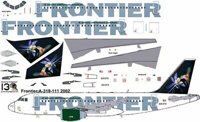 £7.10 • Buy Frontier Humming Bird Airbus A319  Pointerdog7 Decals For Revell 1/144 Kits