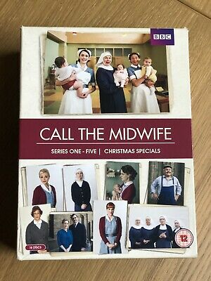 Call The Midwife Box Set Series 1-5 + Christmas Specials + Behind The Scenes • 10£
