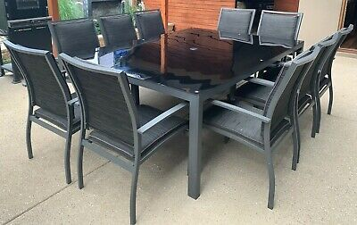 AU301 • Buy 10 Seat Outdoor Table Setting
