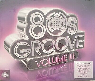 £9.79 • Buy 80s Groove Volume III - Various Artists - Ministry Of Sound - 3 CDs-New & Sealed