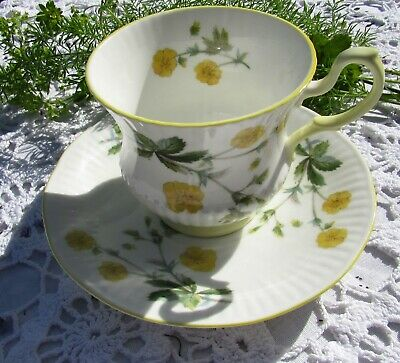 £13.99 • Buy Vintage Rosina China Co. Queen's Buttercup Patterned Cup & Saucer