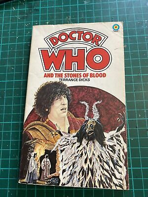 Doctor Who And The Stones Of Blood - Terrance Dicks / Target Paperback • 4.99£