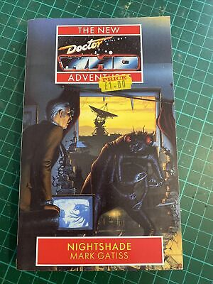 Nightshade New Doctor Who Adventures By Mark Gatiss Paperback Book Virgin Books • 13.99£