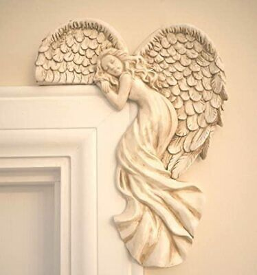 £11.99 • Buy Angel Door Frame Ornament Home Wall Decoration Guardian Wings Decor