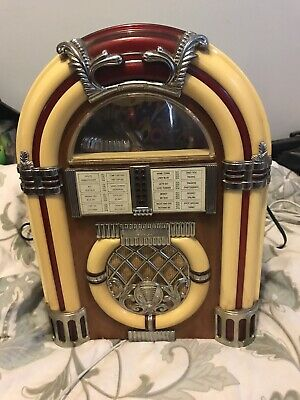 £48.77 • Buy Spirit Of St. Louis Cassette Player Jukebox Brown/Cream With Lights