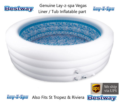 £379.99 • Buy NEW Bestway Lay-Z-Spa VEGAS 2021 Inflatable LINER ONLY -No Covers, Heater Or Lid