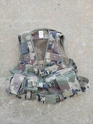 $45 • Buy French Military Combat Vest   Woodland Camo