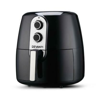 AU119.95 • Buy Sir John's Gifts Devanti 7L Oil Free Air Fryer - Black