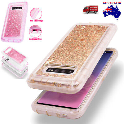 AU14.99 • Buy For Samsung Galaxy S10 Plus S10E S8+ Glitter Case Heavy Duty Shockproof Cover