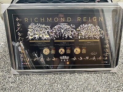 AU795 • Buy Signed Dustin Martin And Trent Cotchin Richmond Reign Superb Official Item