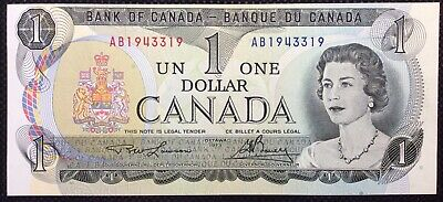 1973 CANADA  ONE DOLLAR $1 BANK NOTE Unc  • 5.15£