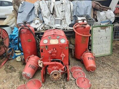£850 • Buy Lady Godiva Fire Pump With Fire Fighting Equipment