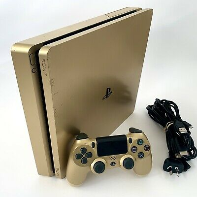 AU389.90 • Buy PS4 Console 500GB *Limited GOLD Edition* Playstation 4 + Genuine Gold Controller