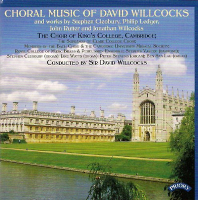 £10.05 • Buy `Choir Of King`s College, Cam`-Choral Music Of David Willco CD NEW