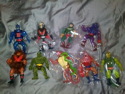 $66 • Buy MOTU Vintage Lot Of 9 Masters Of The Universe He-Man Rare