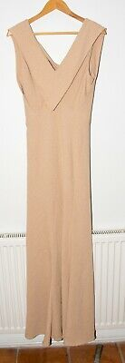 AU8.91 • Buy Fever Arvilla Long Cocktail/party Dress. Champagne Colour. Fit Flare.  Size 16