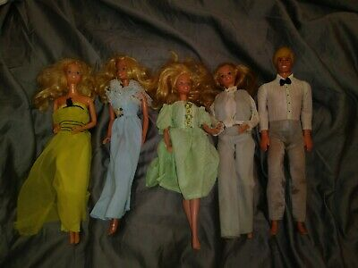 $ CDN19.83 • Buy Lot Of For 1966 Vintage Barbie Dolls 1968 Ken Taiwan Philippines Clothes