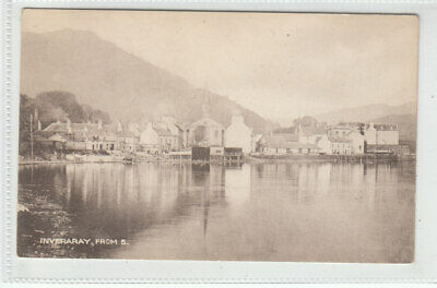 Inveraray Argyll From South Robertsons Ironmongery Stores Old Postcard Unposted • 1.95£