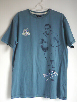 Everton Football T-Shirt Men's Dixie Dean T-Shirt - Blue - 60 Goal Tour • 11.99£