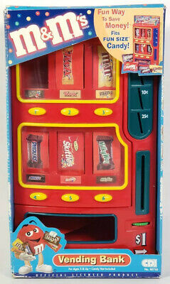 $76.88 • Buy M&m's Vending Machine Bank Uses Snack Size Candy Snickers Twix, Mars 2004
