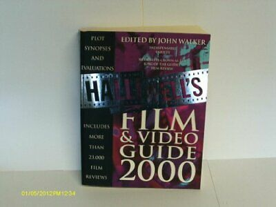 £3.99 • Buy Halliwell� S Film And Video Guide 2000 Paperback Book The Cheap Fast Free Post