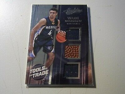AU5 • Buy 2016-17 Absolute Tools Of The Trade Wade Baldwin IV Triple Jersey Patch Ball