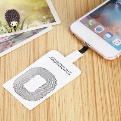 $ CDN3.01 • Buy Qi Wireless Charger Adapter Charging Receiver For IPhone Type-C Andriod W2U4
