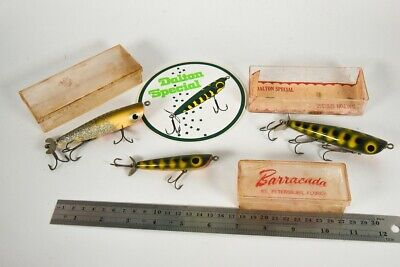 $ CDN13.05 • Buy Vintage Dalton Special Antique Fishing Lure Lot With Sticker LC45