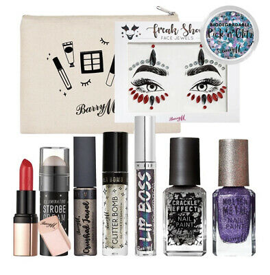 $34.45 • Buy Barry M Purple Froast Make Up Goody 10 Items Including Bag Gift For Her