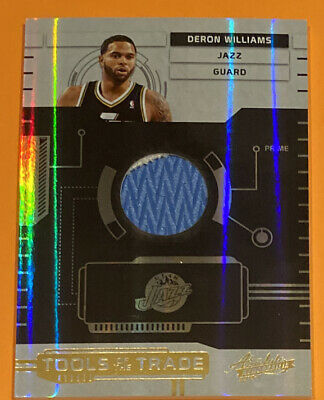 AU1.28 • Buy 2010-11 Absolute Deron Williams Tools Of The Trade Jersey 2/5