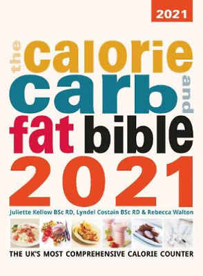 £24.83 • Buy Costain, Lyndel-Calorie Carb And Fat Bible 2021 BOOK NEW