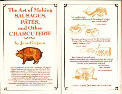 £13.99 • Buy The Art Of Making Sausage Pates By Grigson, Jane Paperback Book The Cheap Fast