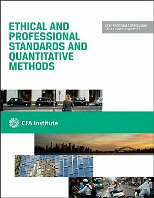 £3.99 • Buy Cfa Level I 2014: Volume 1 -- Ethical And Professional Stand... By Cfa Institute