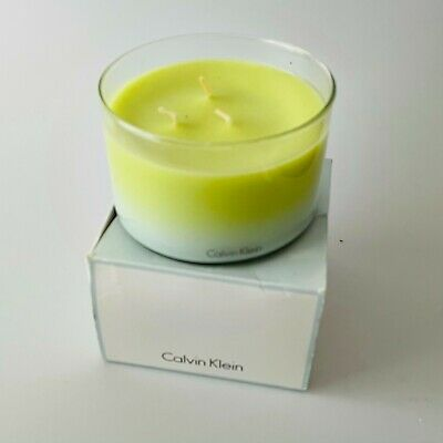 £39.99 • Buy Calvin Klein Triple Wick Water Candle (Damaged Box)