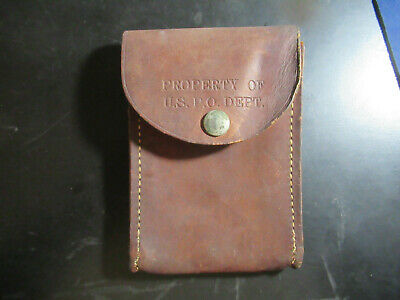 $75 • Buy Vintage USPS Mail Carrier Small Leather Pouch