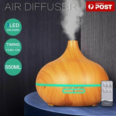 AU18.05 • Buy Ultrasonic Aroma Aromatherapy Diffuser Oil Electric Air Humidifier Essential LED