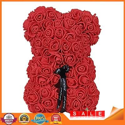 AU14.33 • Buy Artificial Rose Bear Preserved Flowers For Valentine Birthady Gift (Red) A#S
