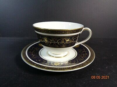 £18.99 • Buy Royal Doulton Dorchester H5148 Fine Bone China Footed Tea Cup & Saucer STUNNING
