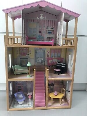 £30 • Buy Large Wooden Dolls House With Furniture