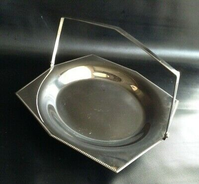 £15 • Buy Vintage Chrome Cake Stand With Folding Handle