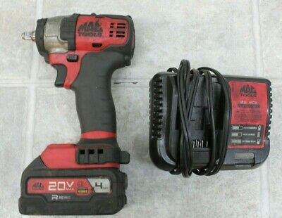 $259.95 • Buy 🌟🎈Mac Tools MCF891 3/8  Brushless Impact Driver W/ 4 AH Battery & Charger!🌟🎈