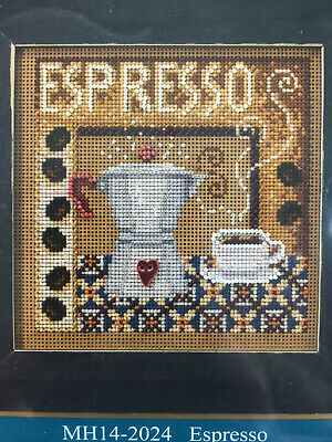 $12.95 • Buy Mill Hill Buttons & Beads Cross Stitch Kit -  Espresso