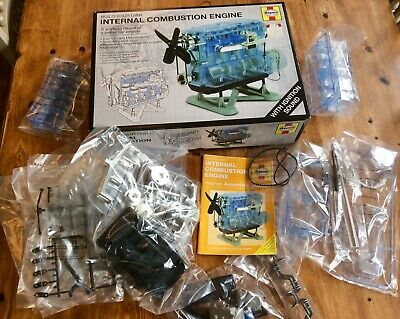 £6.01 • Buy Vintage HAYNES BUILD YOUR OWN INTERNAL COMBUSTION ENGINE,Boxed,Unopened,