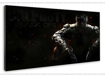 £38.99 • Buy Call Of Duty Black Ops 3 Reaper Cover Game Image Canvas Print Wall Art Framed