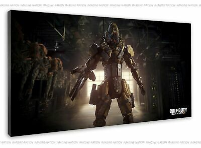 £38.99 • Buy Call Of Duty Black Ops Iii Reaper In Game Picture Canvas Print Wall Art Framed