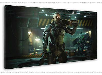 £38.99 • Buy Call Of Duty Ruin Operator Posing In Game Image Canvas Print Wall Art Framed