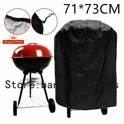 £8.49 • Buy Round BBQ Cover Kettle Heavy Duty Waterproof Gas Barbeque Grill Garden Protector