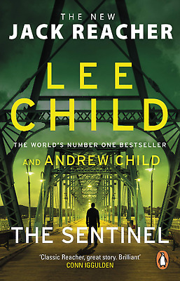 £6.20 • Buy The Sentinel: (Jack Reacher 25) By Lee Child New Book Paperback FREE POST